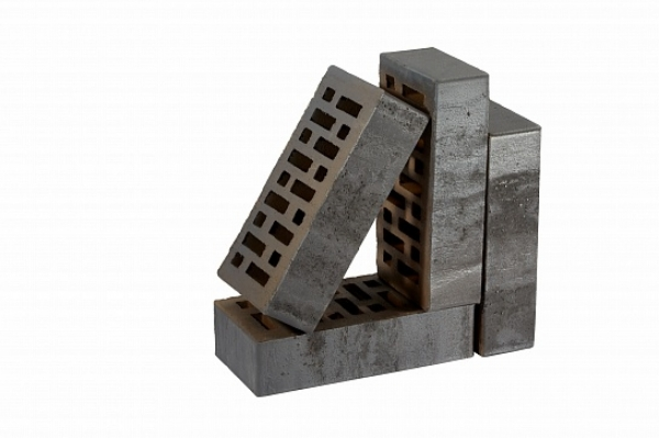 Кирпич RECKE облицовочный, серия Krator 5-32-00-2-12 1NF